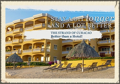 THE STRAND CURACAO  Energy conserving technologies ensure the highest quality experience for our guests while reducing waste.We utilize biodegradable and/or green cleaning products to clean your apartment every 3 days. Extra cleaning and towel wash is upon request to minimize unnecessary washing. Once out of circulation, old towels and linens are reused as cleaning rags.   http://www.thestrandcuracao.com/the-strand