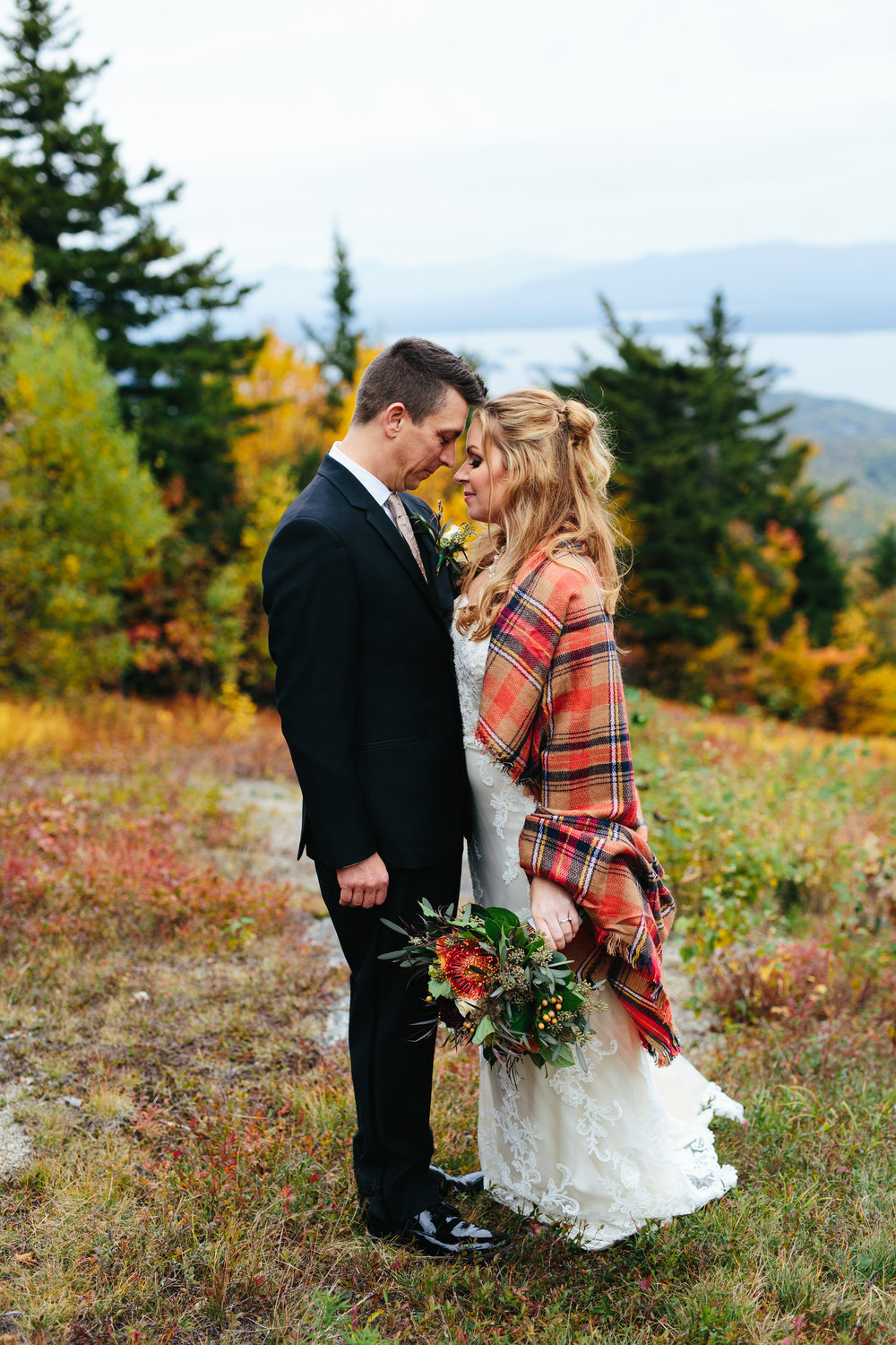 Amanda and Neil - October wedding in the White Mountains, NH