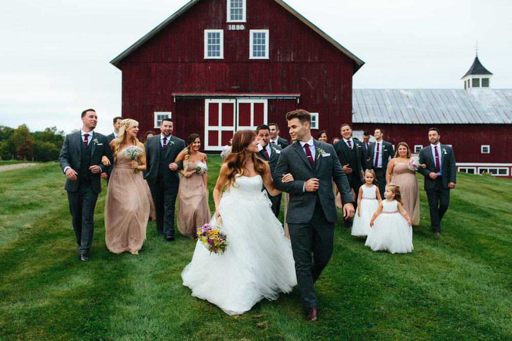 Megan and Anthony - September wedding at the Inn at Mountainview Farm, East Burke, VT