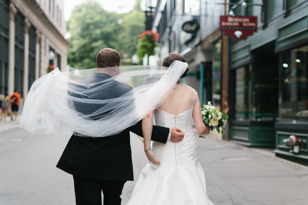 Ellie and Brandon - Downtown Boston Summer wedding