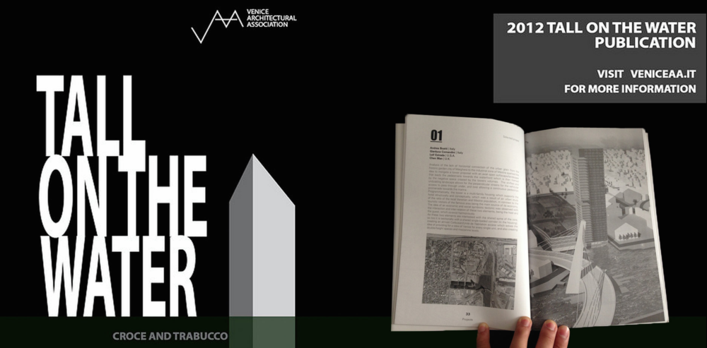 2012 Tall on the Water Publication Released (Venice Architectural Association)