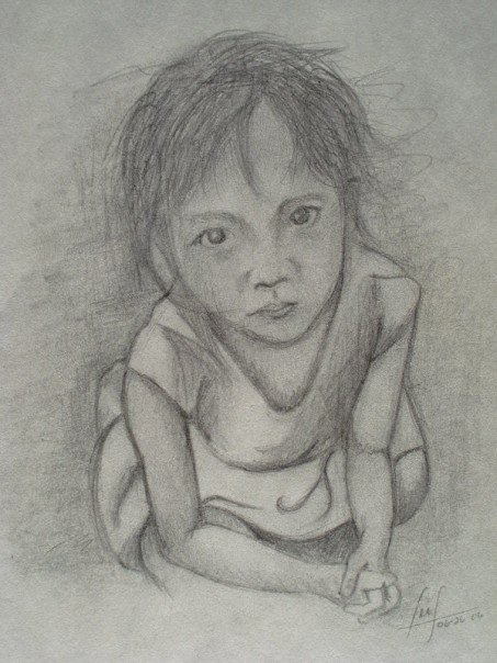 Please, graphite, 2006