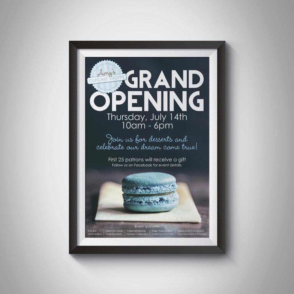 wedding vendor grand opening
