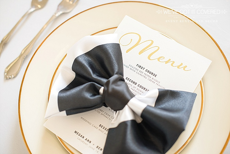 Finding The Right Napkin For Your Wedding Sixpence Events