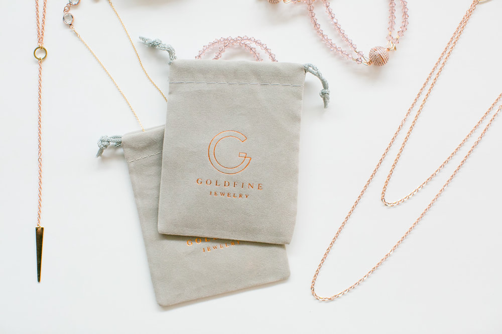 bridal jewelry modern | Goldfine Jewelry in Minneapolis | Photo by Jeannine Marie Photography