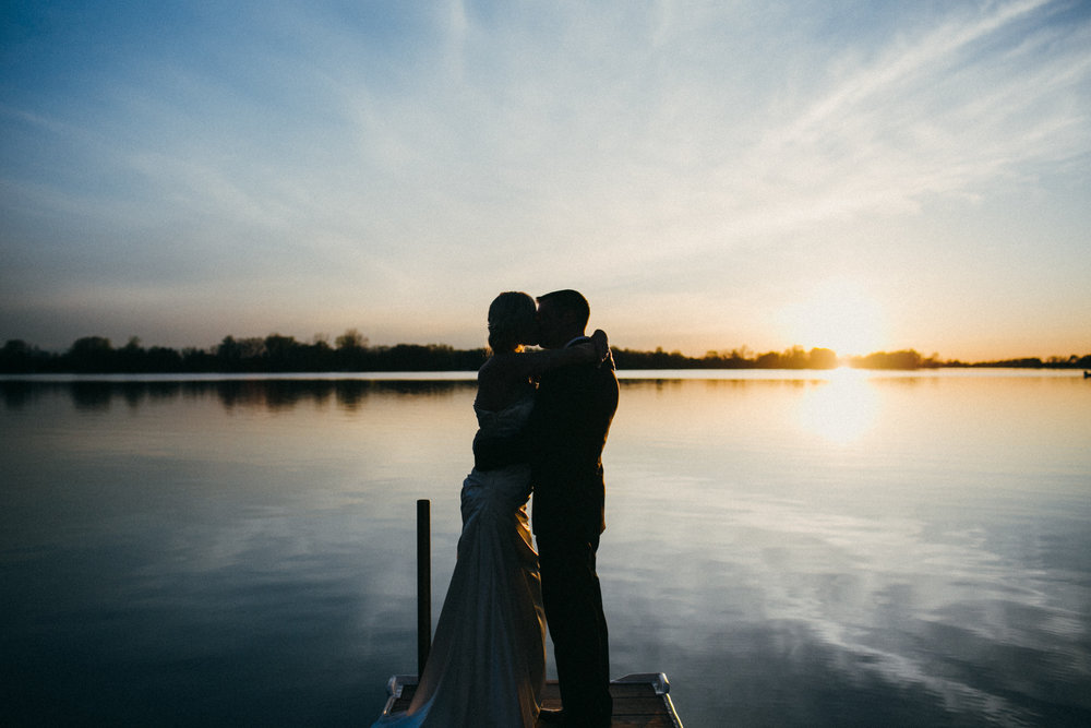 Mark Fierst Minneapolis Photography | Sixpence Standard Blog Post | lake golden hour photo