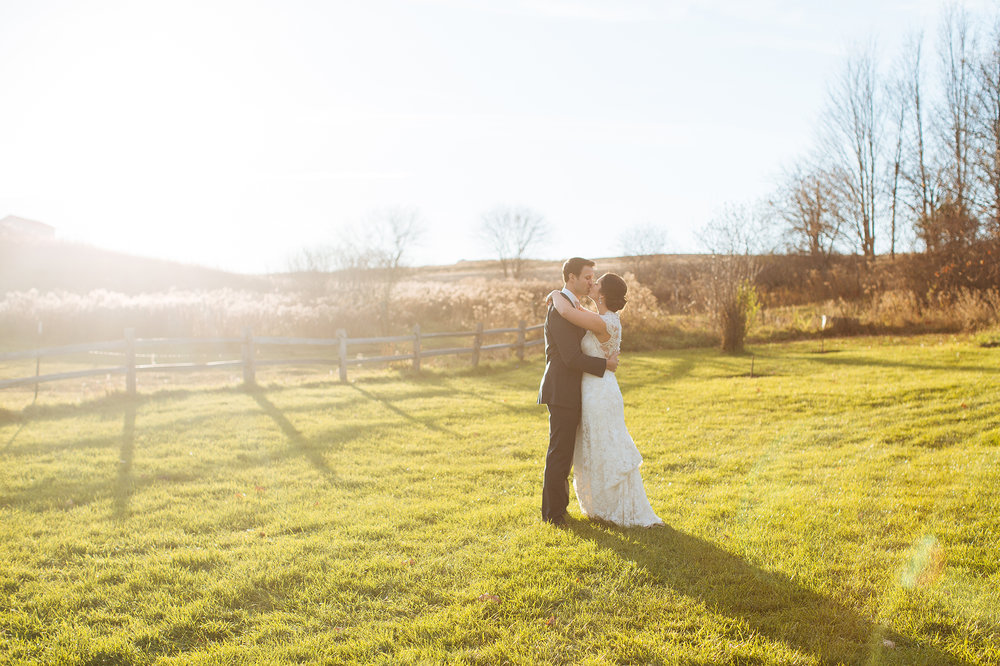 Alyssa Lee Minneapolis Wedding Photographer | Sixpence Standard wedding blog | bride and groom dance in the field