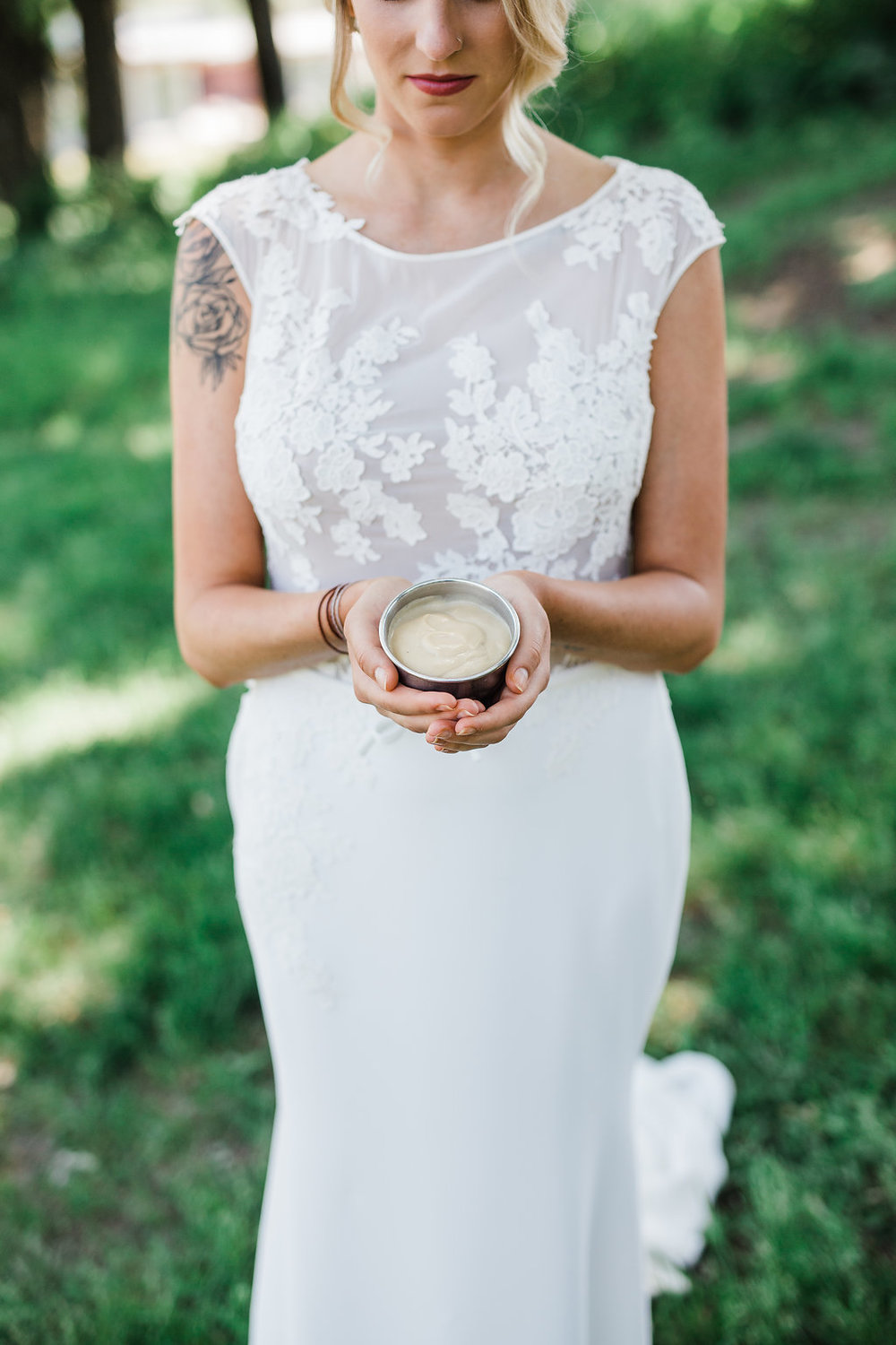 brasa rotisserie signature dessert butterscotch pudding | Minneapolis wedding planner Sixpence Events & Planning | Annika Bridal | Kyle Loves Tori photography | Cristina Ziemer beauty | Heather Trachsel Beauty | Talks to Animals Shop