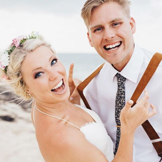 Corin and Garrison second wedding shoot on their honeymoon