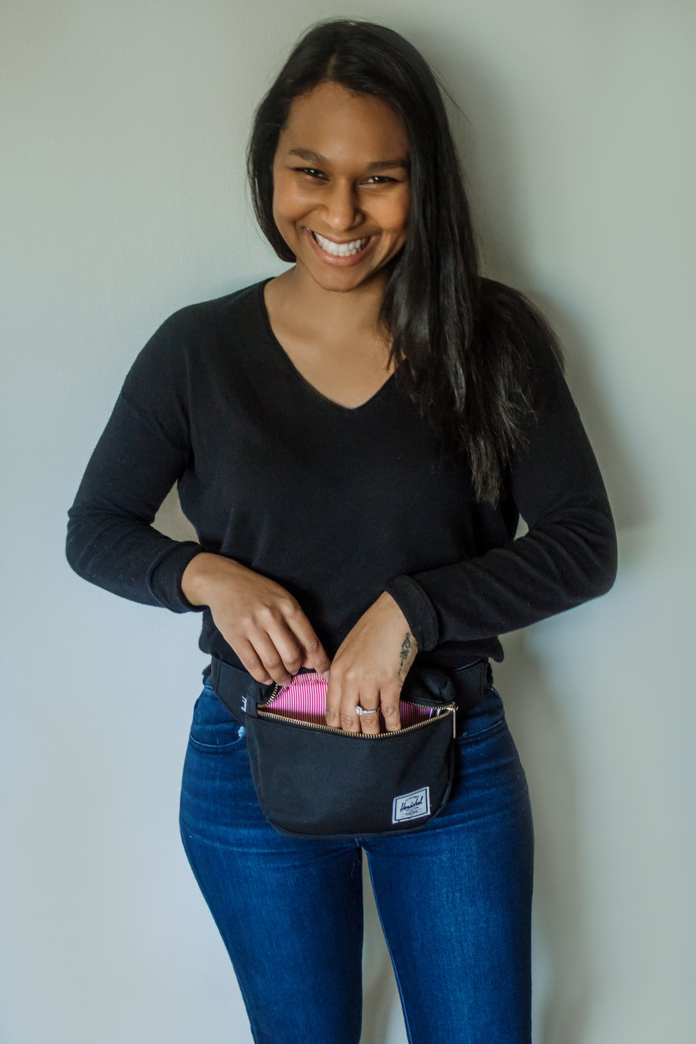 Photo credit: My Darling Catastrophe // herschel fanny pack // sixpence events