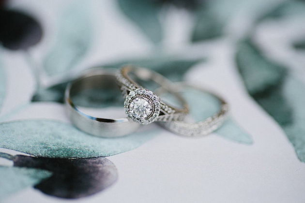 Nicole + Luke | Villa Bellezza | Kristina Lorraine Photo | ring detail shot