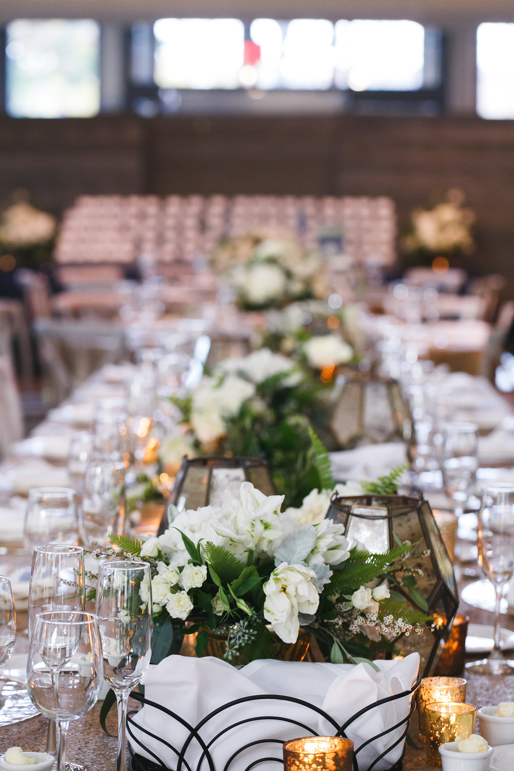 Brovado Wedding Photography | Machine Shop Minneapolis | Sixpence Events Day of Coordinating head table with geo domes.jpg