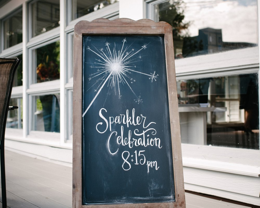 Sparkler send off sign by A Vintage Touch Weddings | Dillinger Studios Minneapolis Photographer | Mexican American fusion wedding | Sixpence Events & Planning Minnesota wedding planner .jpg
