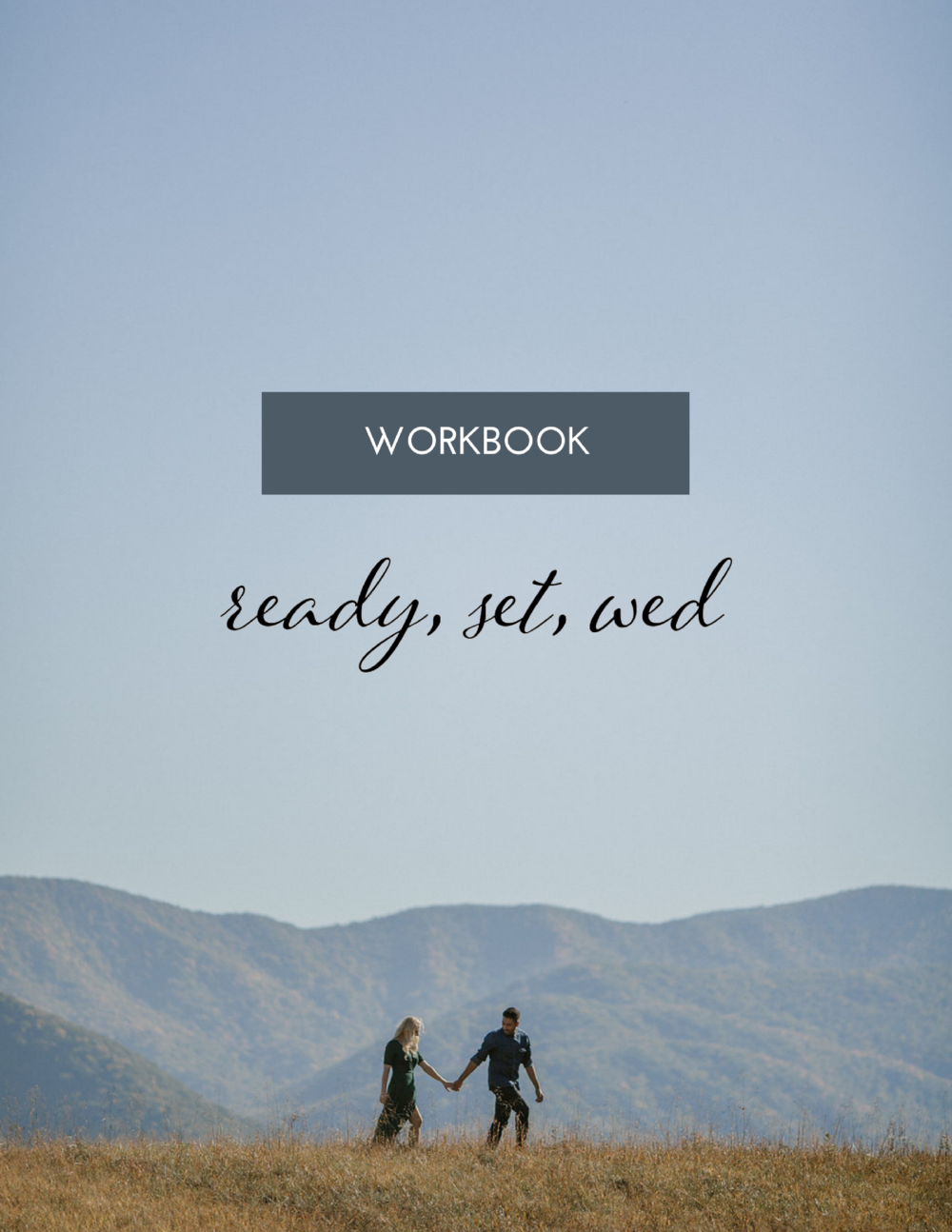 Ready, Set, Wed worksheet