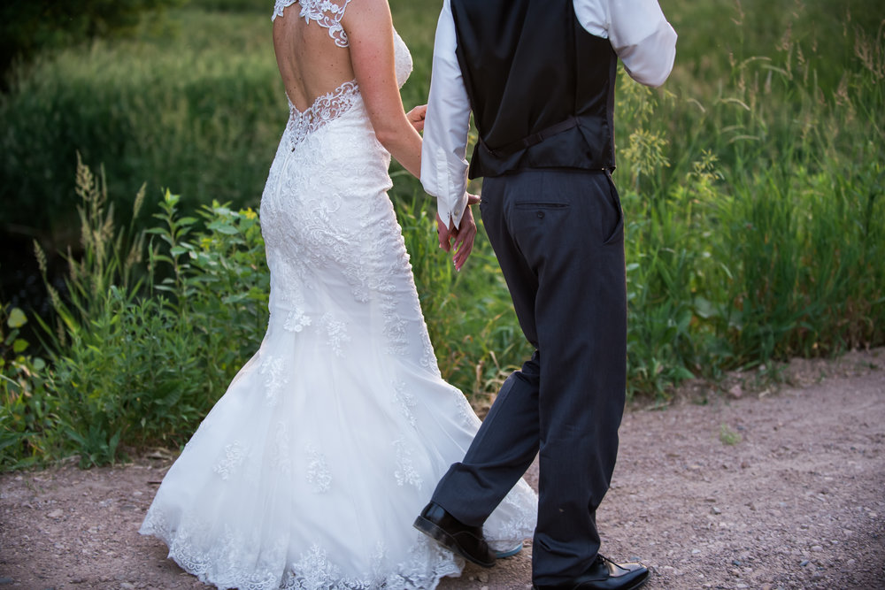 key hole dress back with lace border | Kelly Birch Photography :: Horse and Hunt Club :: Sixpence Events Minnesota wedding planner .jpg