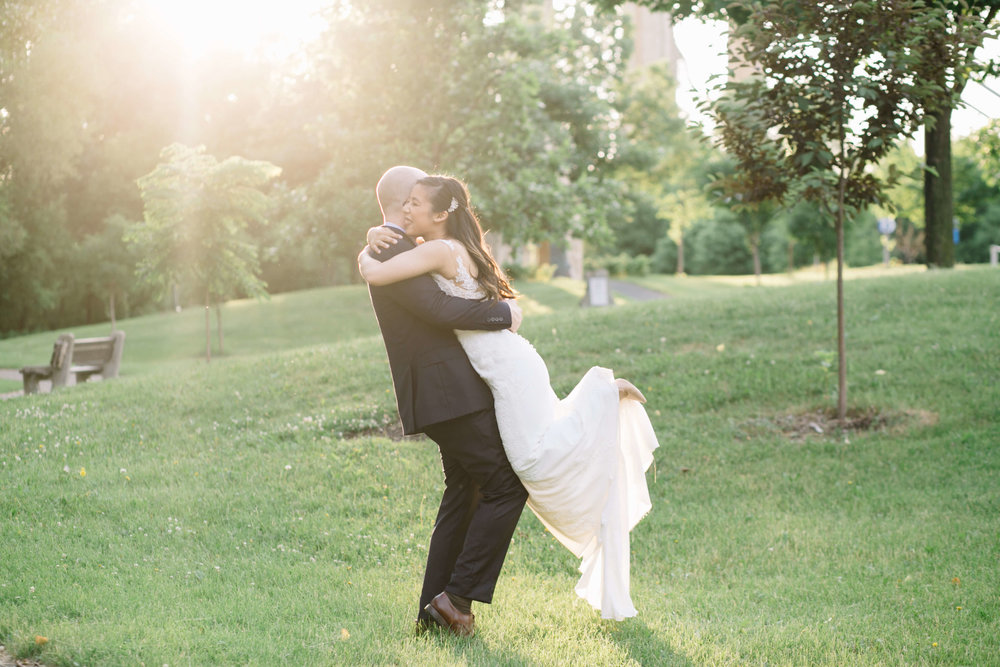 couples portrait, Whims and Joy Minneapolis photographer :: Sixpence Events & Planning Minnesota wedding planner :: Nicollet Island Pavilion.jpg