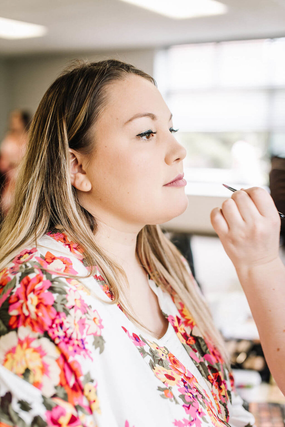 Laura Haya Photography | Sixpence Events Day of Coordinating | Bunker Hills Event Center Minnesota | bride getting ready photo