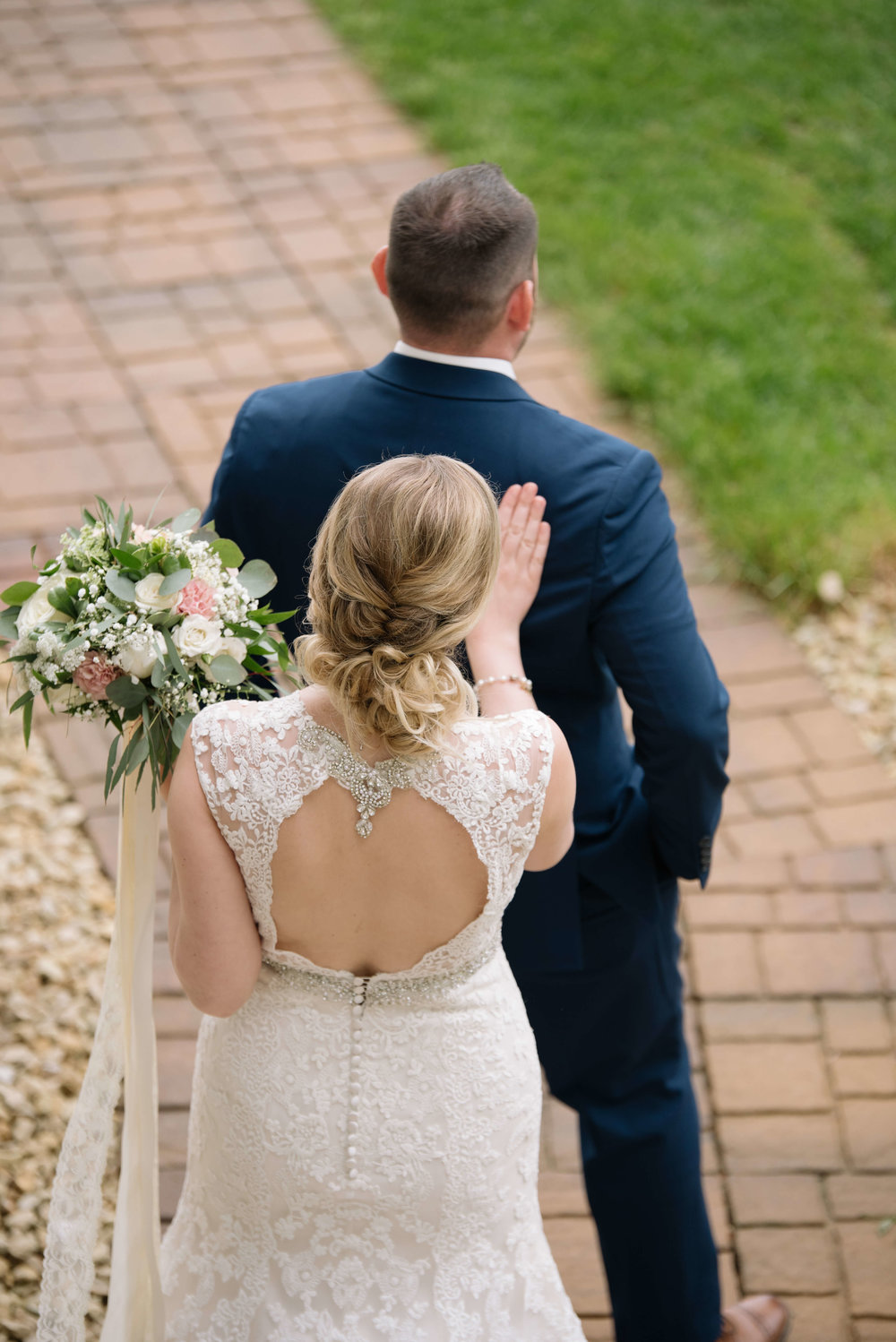 should i do a first look for my wedding? | Lauren Baker Photography | Sixpence Events Blog Post: Must Have Wedding Photography Tips