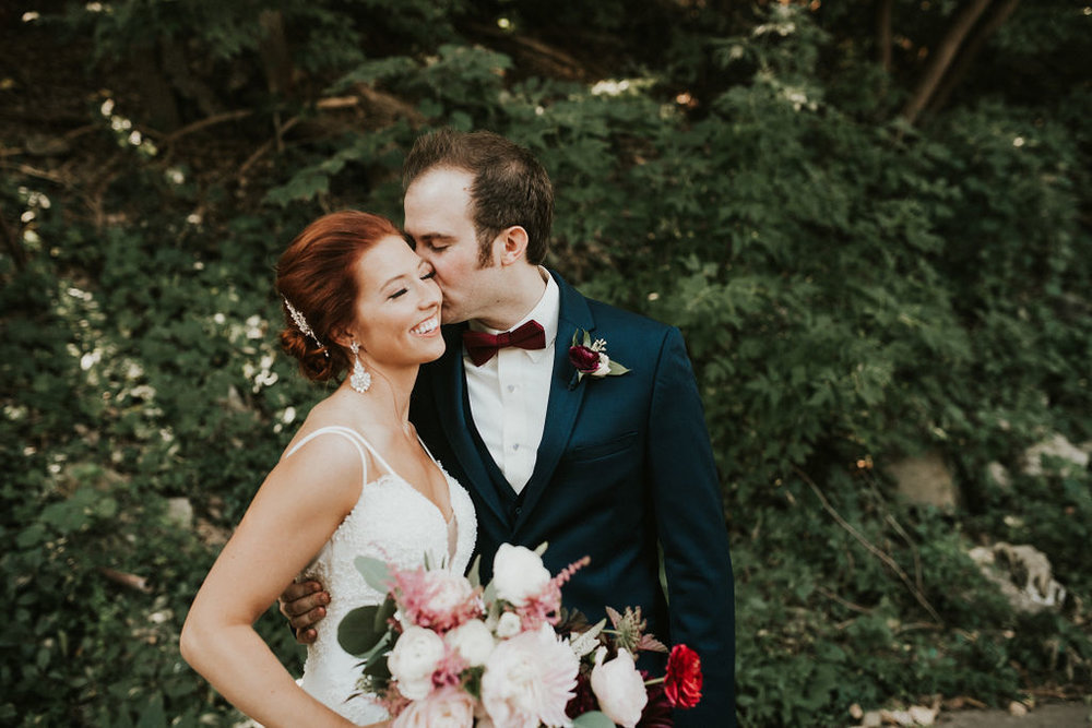 redheaded bride | couples portrait on Minneapolis bike path | Asher Marie Photography | Minneapolis day of coordinator | Muse wedding downtown.jpg