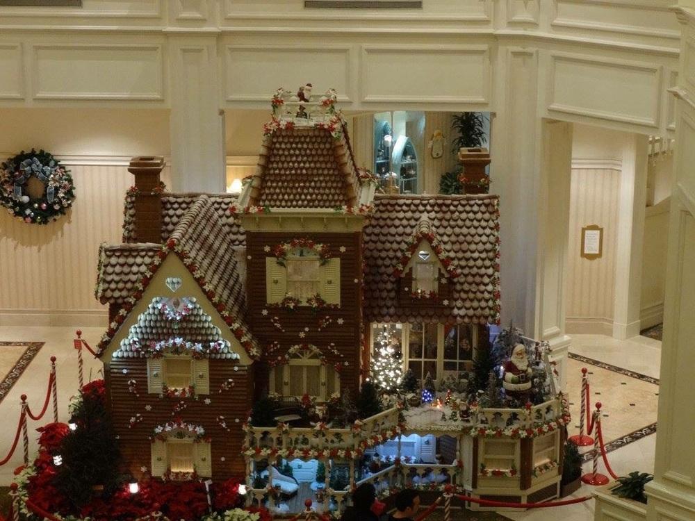 Grand Floridian December 2014