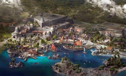 Treasure Cove concept art