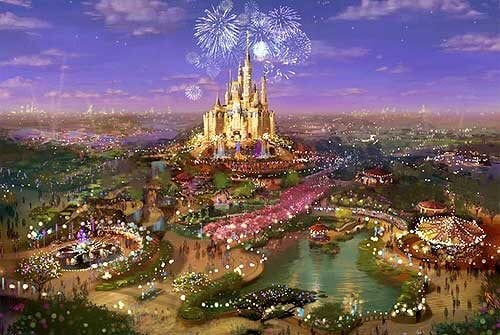Enchanted Storybook Castle concept art