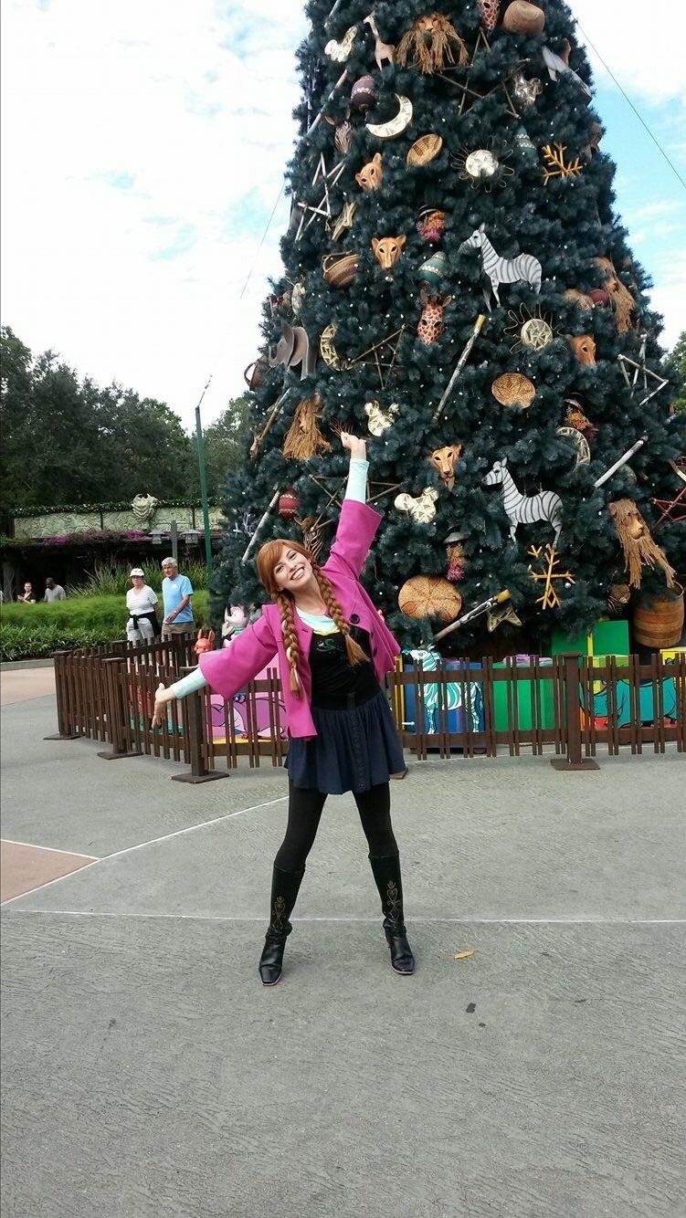 Spunky Anna Bound at Animal Kingdom
