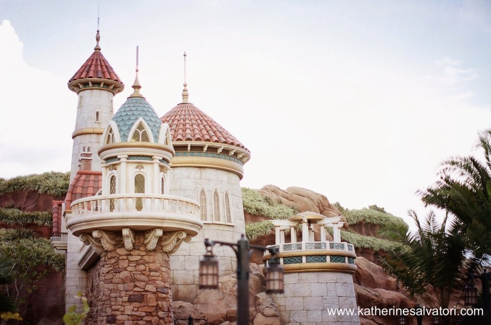 Under the Sea: The Journey of The Little Mermaid  located in  New Fantasyland