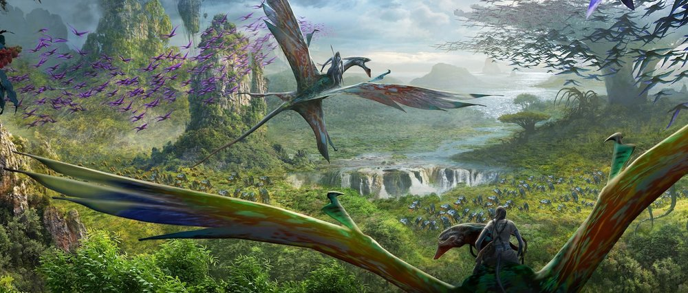 Avatar Flight of Passage  Disney concept art