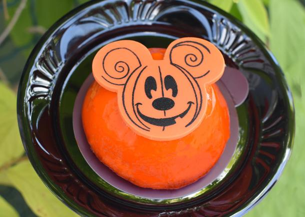 Pumpkin Cheesecake Dome found at Gaston's Tavern and Main Street Bakery