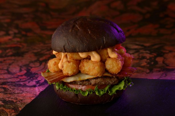 Muenster Smash Burger Available at Cosmic Ray's Starlight Café