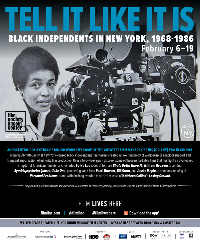 Trailer: Tell It Like It Is: Black Independents in New York, 1968 - 1986