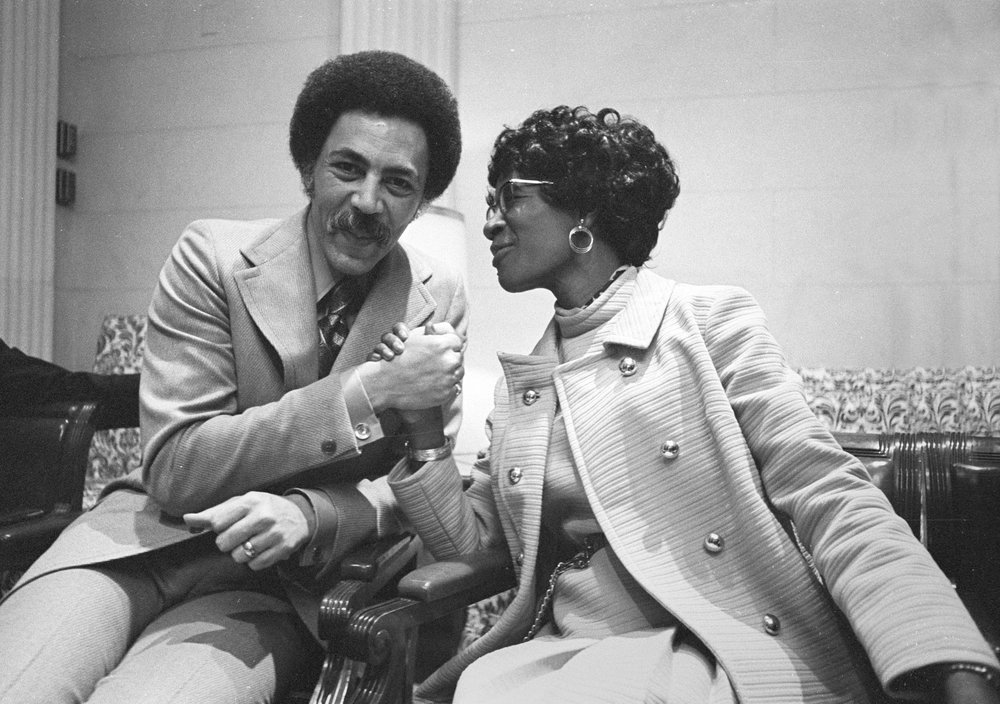 Ron Dellums & Shirley Chisholm