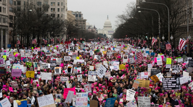 2017 Women's March on Washington D.C. Photo Credit: cnn.com