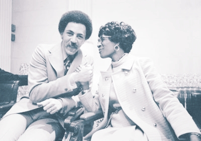 Ron & Shirley Chisholm share a moment of victory.
