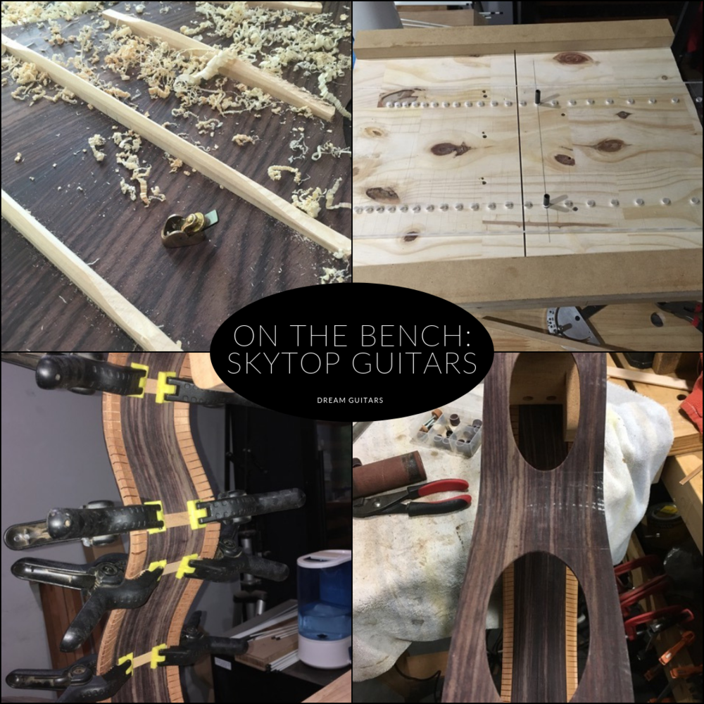 NEW CUSTOM GUITAR BUILD! - My first custom guitar build is in the works! So excited! Keep up with my new guitar build with Skytop Guitars on Dream Guitars's blog!