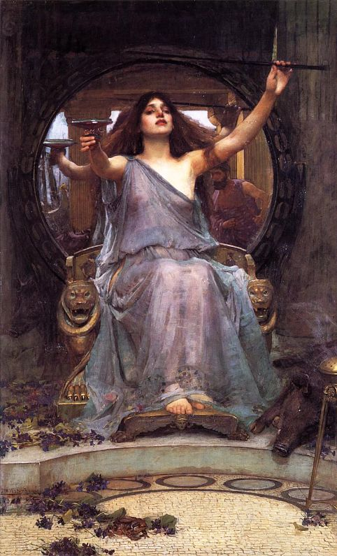 Circe offre una coppa a Ulisse,  by John Waterhouse, 1891 (from Wikimedia Commons)