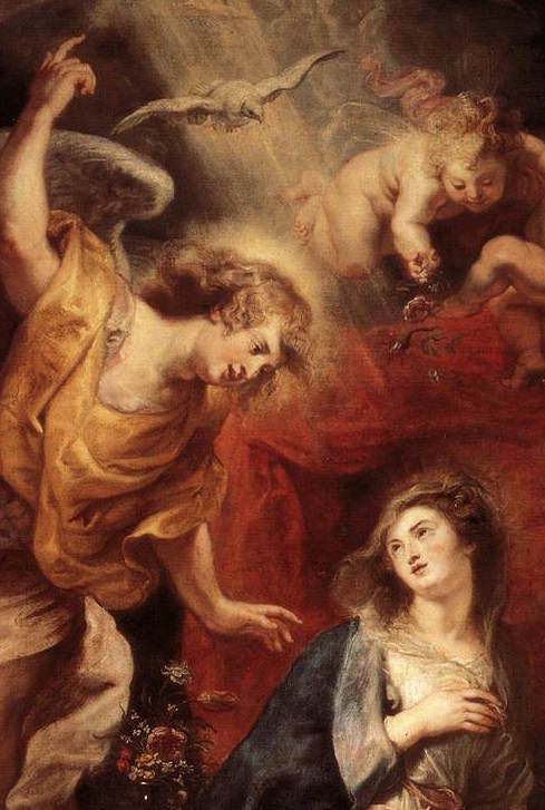 (Peter Paul Rubens,  The Annunciation , 1608-28)