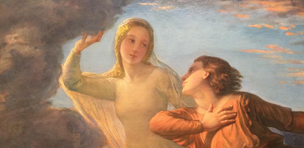 Louis Janmot,  L'idéal,  1854, Musée des Beaux Arts, Lyon (photo RYC)