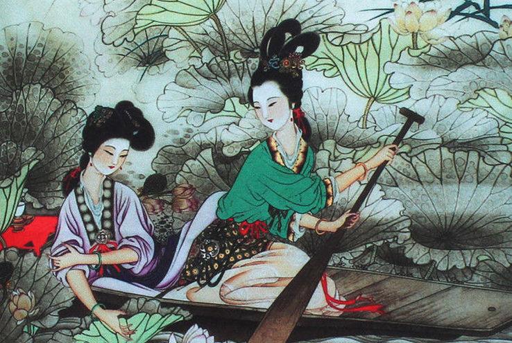 Suzhou Silk Scroll Painting, from aliexpress.com