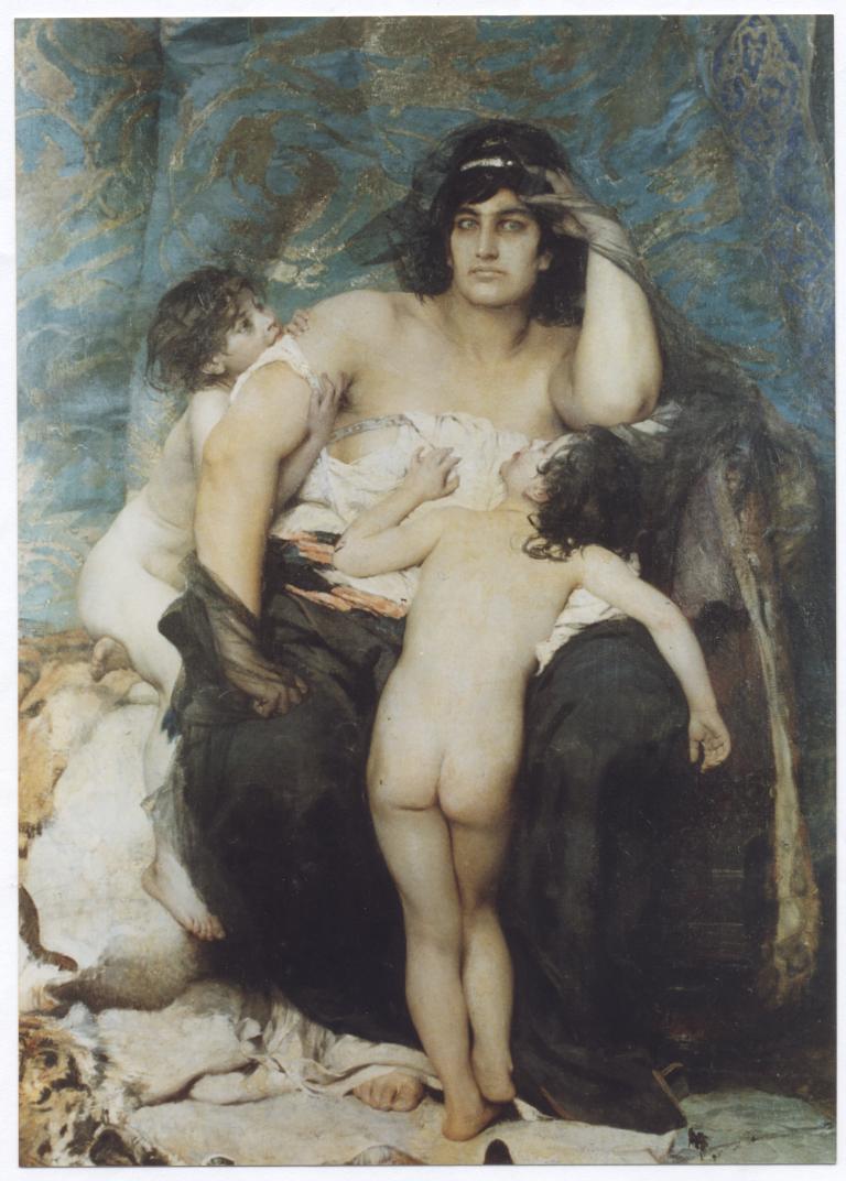 Medea, by Aimé Morot, 1876