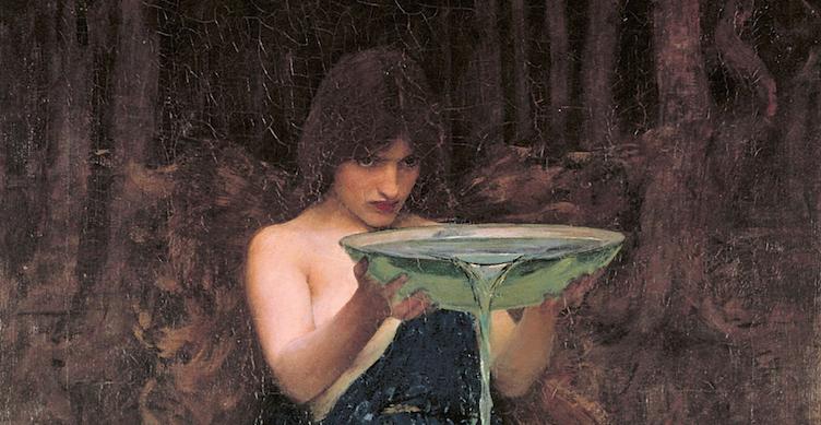Circe Invidiosa (John Waterhouse, 1892)