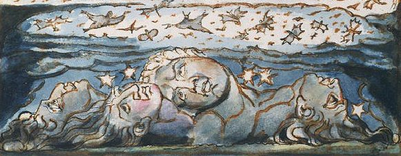 From plate 54 of William Blake's  Jerusalem  (Wikimedia Commons)