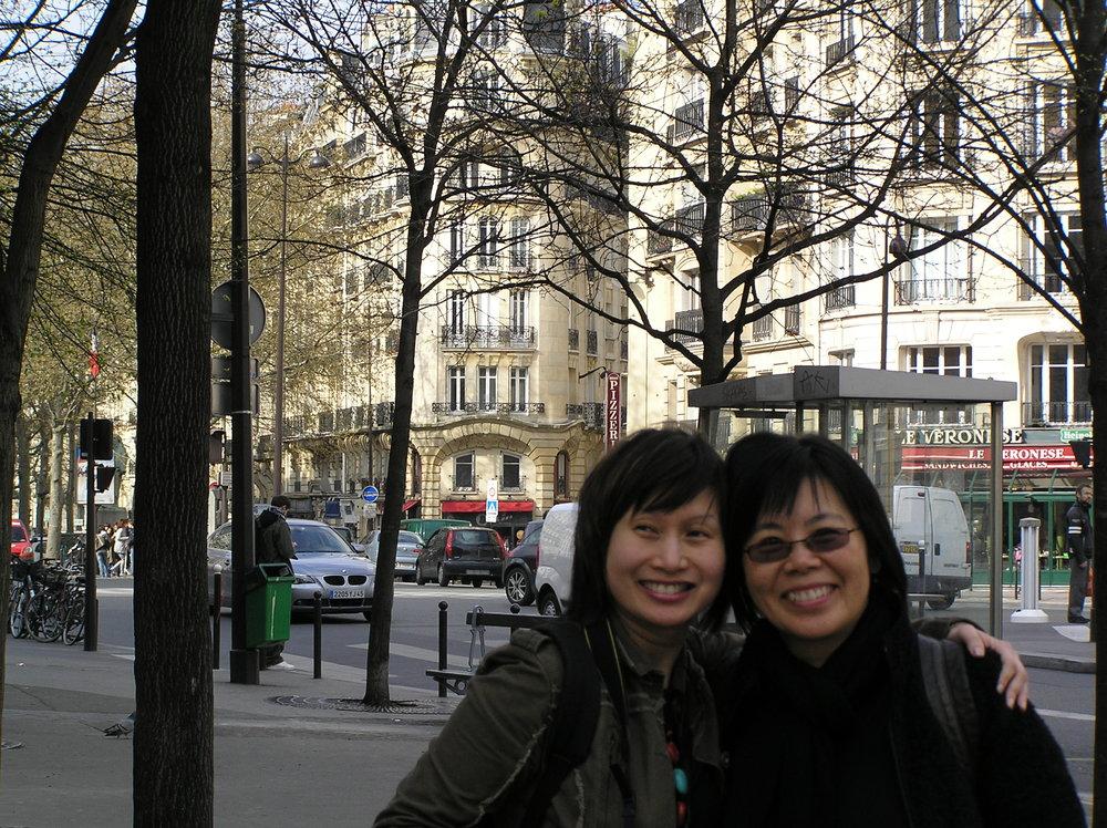 Ruby & friend; Ruby with friend's niece