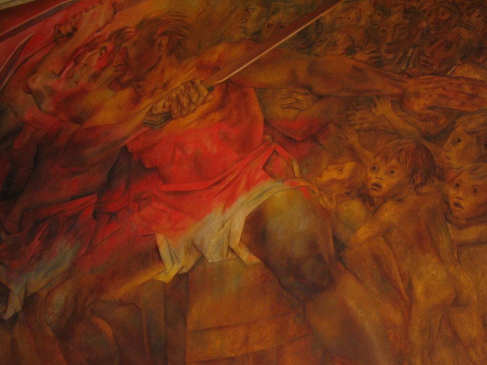 Murals by Fernando Pacheco