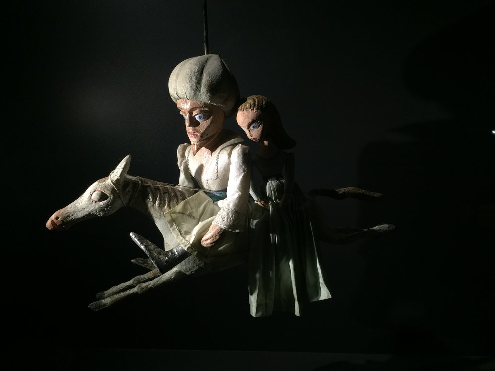The Puppet Museum in the Ljubljana Castle
