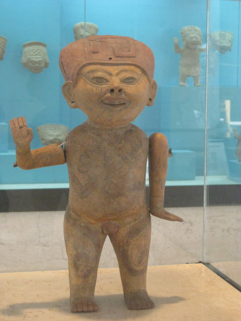 From the Xalapa Museum of Anthropology
