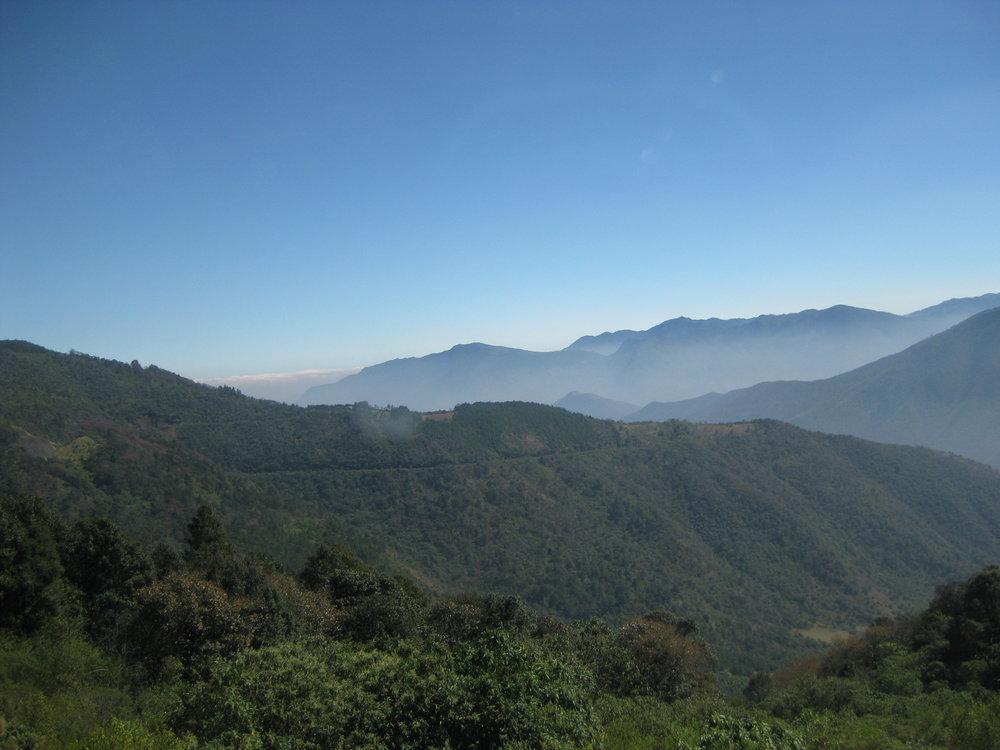 En route to Xalapa, which is between Oaxaca and Veracruz