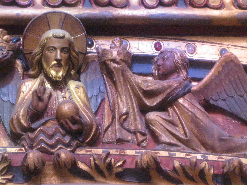 From the royal chapel in the Palais de la Cité