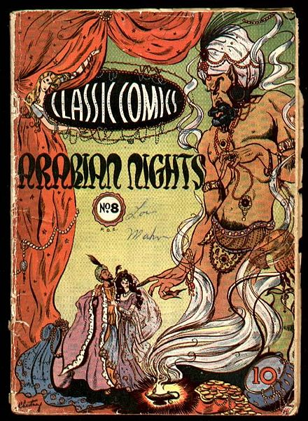 """Cover scan of a Classics Comics book"" (2008, Wikimedia Commons)"